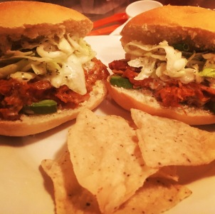 BBQ Pulled Jackfruit Sandwiches. Seriously, if you haven't tried jackfruit you're missing out.